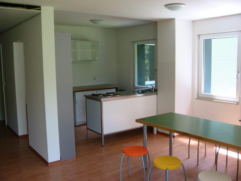 Küche Aufenthaltsraum im ehemaligen Schwesternwohnheim in 78122 Furtwangen