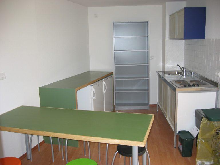 Küche im ehemaligen Schwesternwohnheim